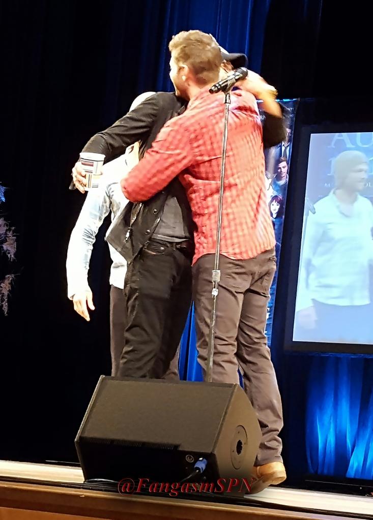 Winchester group hug!