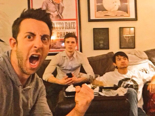 Tyler, Adam and Osric (from Tyler's twitter)