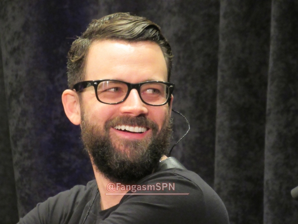 Billy Moran cracking up