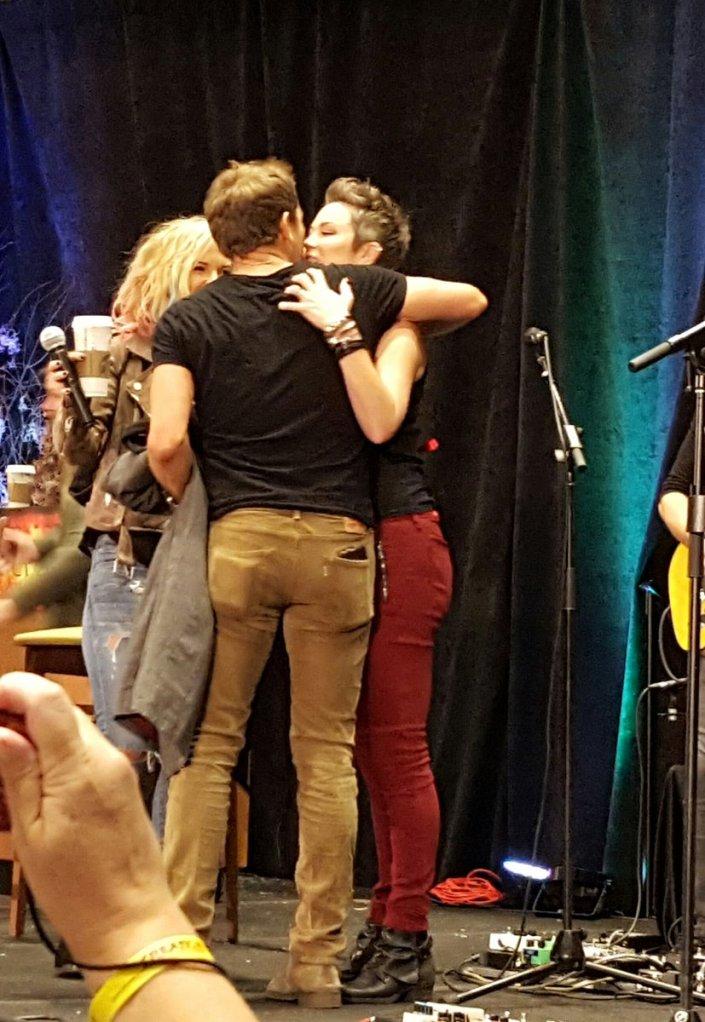 SPN Family hug