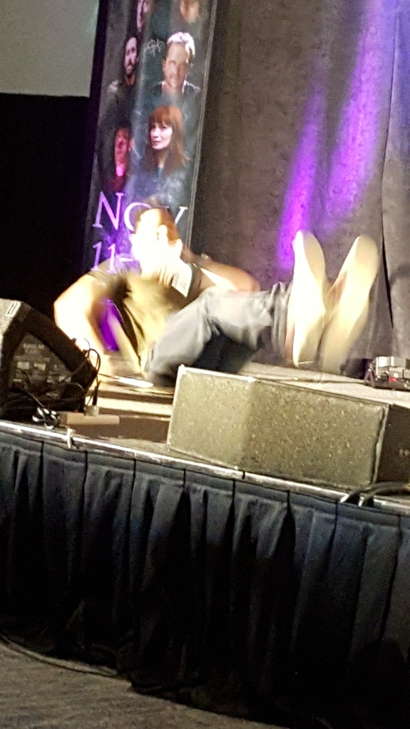 Osric in action