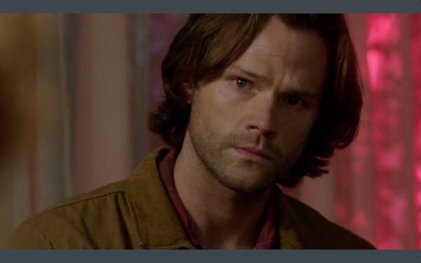 Sam being empathic and gorgeous