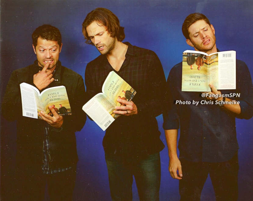 Jared Padalecki and Jensen Ackles on Writing a Book for the SPNFamily – and Being Thankful