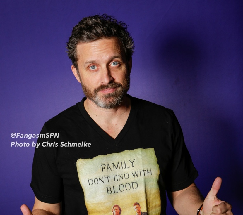 Changing Lives With Stroke Awareness – Rob Benedict on Writing in Family Don't End With Blood