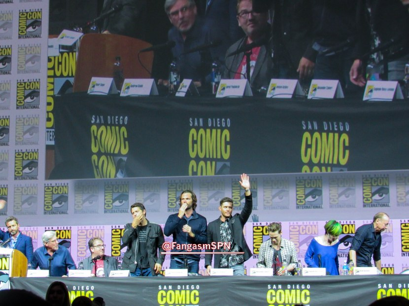 Everything You Wanted To Know About Supernatural at Comic Con 2018 – Part One!
