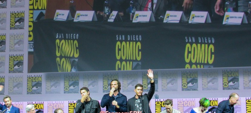 Everything You Wanted To Know About Supernatural at Comic Con 2018 – PartOne!