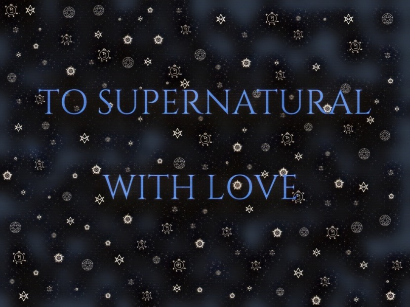 Supernatural Birthday Project – And Fandom Positivity!