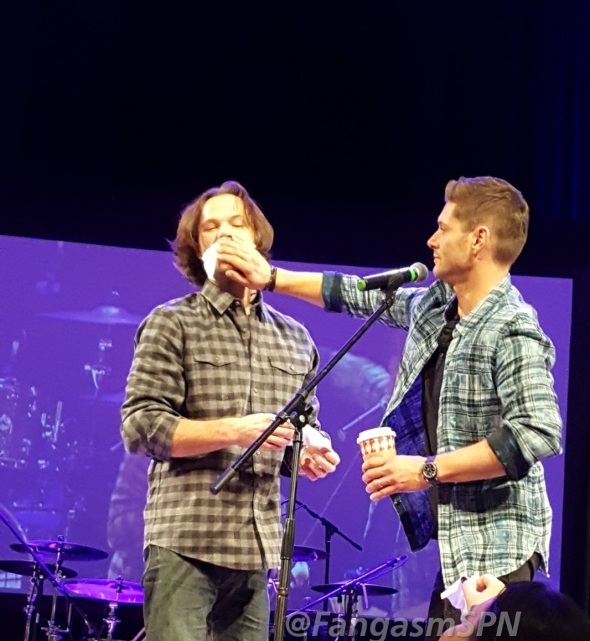 Minneapolis Supernatural Convention 2018 – Sunday with Jared and Jensen!