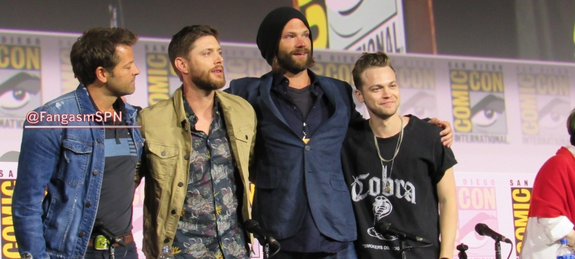 The Final Supernatural Panel in Hall H atSDCC
